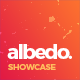 Albedo - Full Screen App Showcase PSD Template