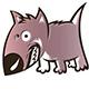 Dog Snarling
