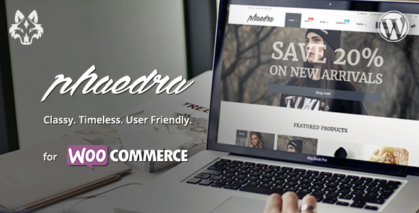 Phaedra – Clean &amp Very simple WooCommerce Theme with AJAX Navigation (WooCommerce)