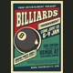 Billiard Tournamet Flyer