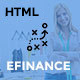 eFinance - Business and Finance HTML Template