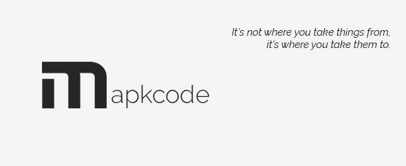 Mapkcode for envato profile