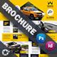 Automobile Introduction Brochure Templates