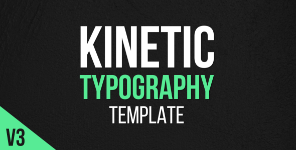 kinetic typography after effects template videohive 17388750 after effects project files. Black Bedroom Furniture Sets. Home Design Ideas