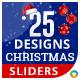 Christmas Sliders - 25 Designs
