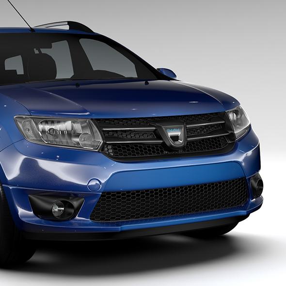 3DOcean Dacia Logan MCV 2016 19204321
