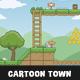 Cartoon Town Game Tileset