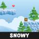 Snowy Game Platformer