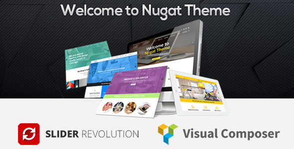 Nugat - Responsive Multi-Purpose Theme