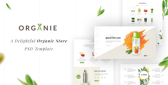 Organie – A Delightful Organic Shop eCommerce Prestashop Theme (Buying)