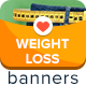 Weight Loss Ad Banners