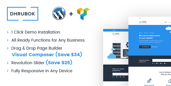 Download Dhrubok - Ultimate Business WordPress Theme nulled download