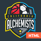 Alchemists - Sports Club & News HTML Template