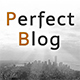 PerfectBlog - Beautiful, Clean and Fast WordPress Blog Theme