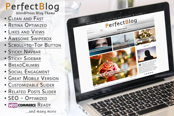 Download PerfectBlog - Beautiful, Clean and Fast WordPress Blog Theme nulled download
