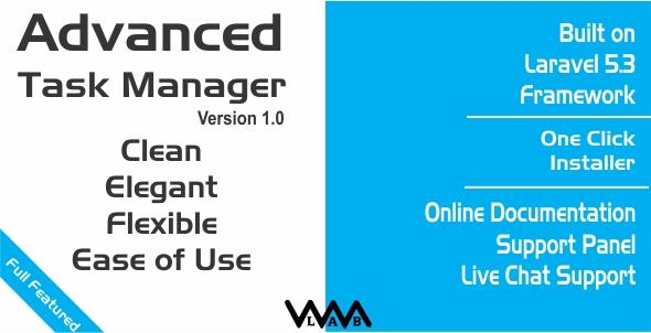Download Laravel Advanced Task Manager