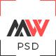 Workfolio - Personal Portfolio PSD Template