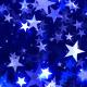 Blue Stars Falling