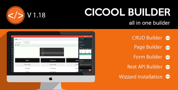 Download Cicool - Page, Form, Rest API and CRUD Generator nulled download