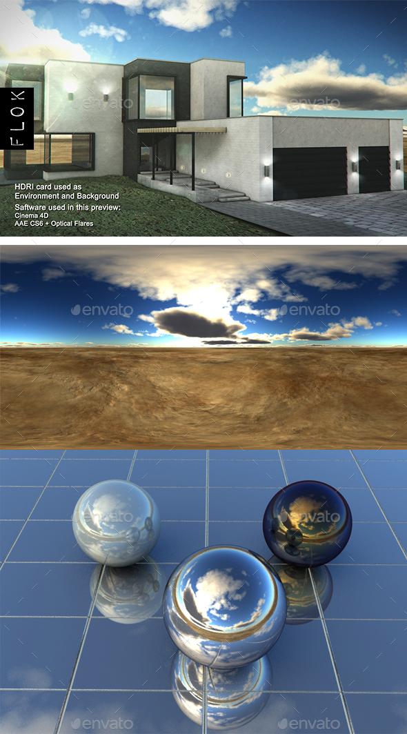 Daylight Desrt 57 - 3DOcean Item for Sale