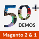 Magento 2 Themes & Magento 1.9, 2.1 - 50+ Templates - Multi-Purpose Responsive | EVERYTHING