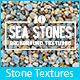 10 Sea Stones Background Textures