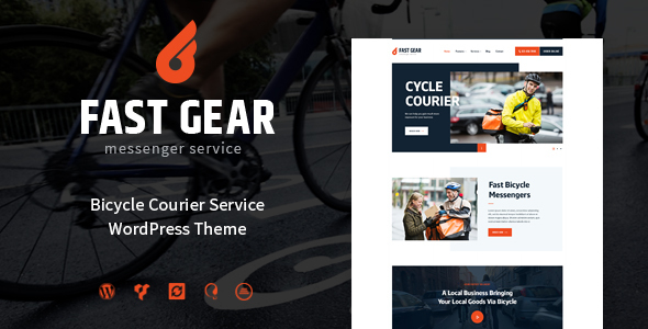 Download Fast Gear | Courier & Delivery Services nulled download