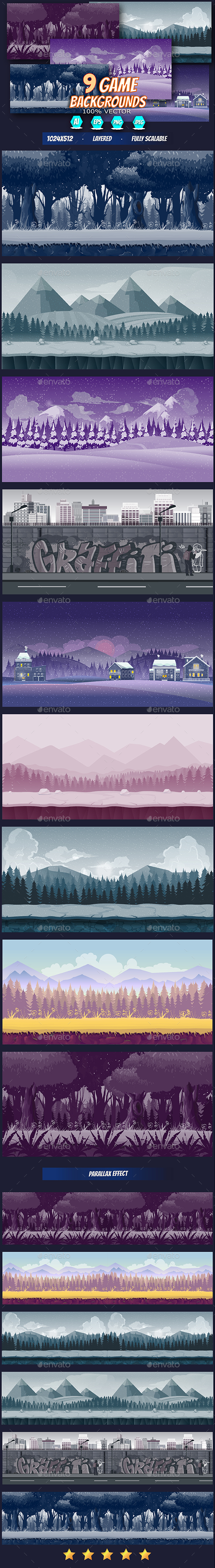 Atmosphere Apps backgrounds
