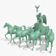 Quadriga Statue from Brandenburg Gate Berlin
