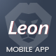 Leon - Mobile App Landing Page Template