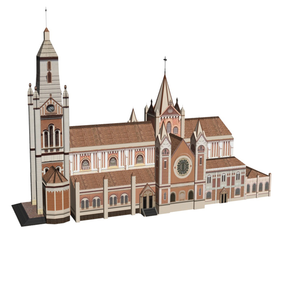3DOcean Roman Catholic Church 19209358