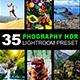 35 Photography HDR Lightroom Preset
