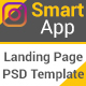 Smart App- Mobile App-PSD Templates