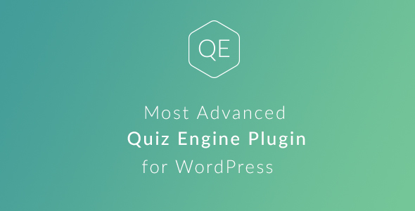 WordPress Quiz Engine Plugin - CodeCanyon Item for Sale
