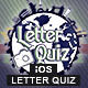 Letter Photo Quiz With CMS & Ads - iOS