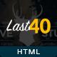 Last 40 Creative Website Template