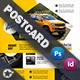 Automobile Introduction Postcard Templates