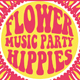 Hippies Music Party Flyer Poster