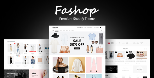 FAshop - premium Responsive fashion Shopify theme