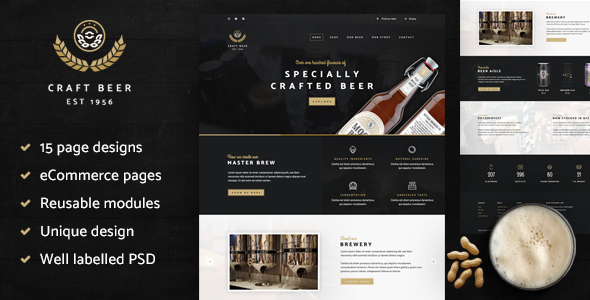 Craft Beer Nation PSD (Retail)