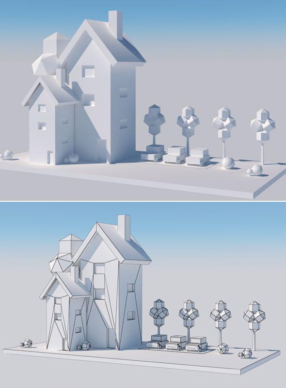 Cartoon Component - 3DOcean Item for Sale