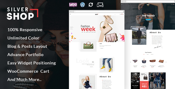 Download Silver Shop - Multipurpose WooCommerce Theme nulled download