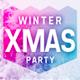 Winter Xmas Party Flyer