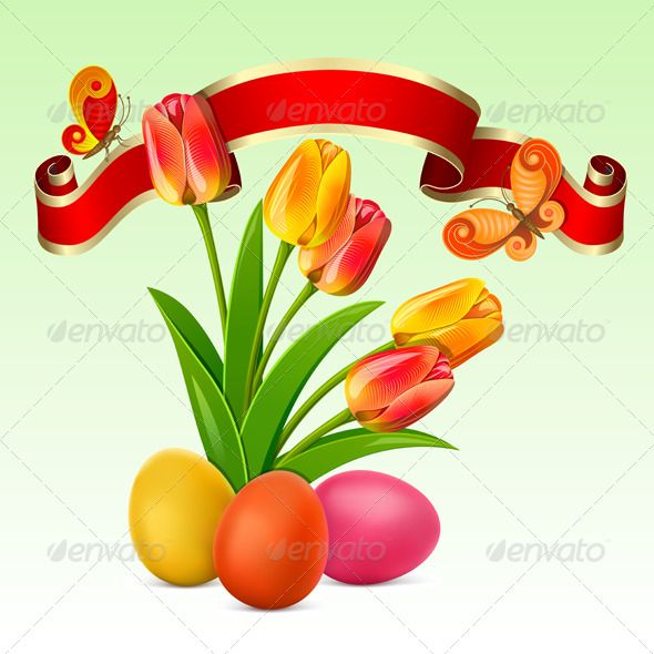 GraphicRiver Easter background 222231