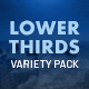 Download Lower Thirds Variety Pack from VideHive