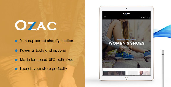 Image of Ap Ozac Sections Shopify Theme