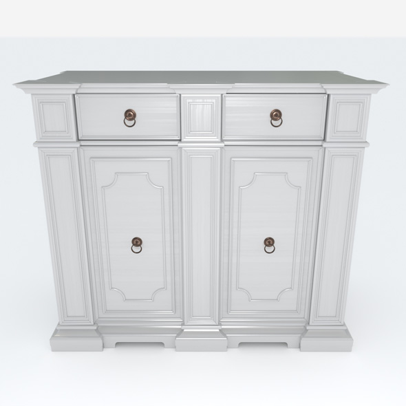 3DOcean Chest of drawers 19217141