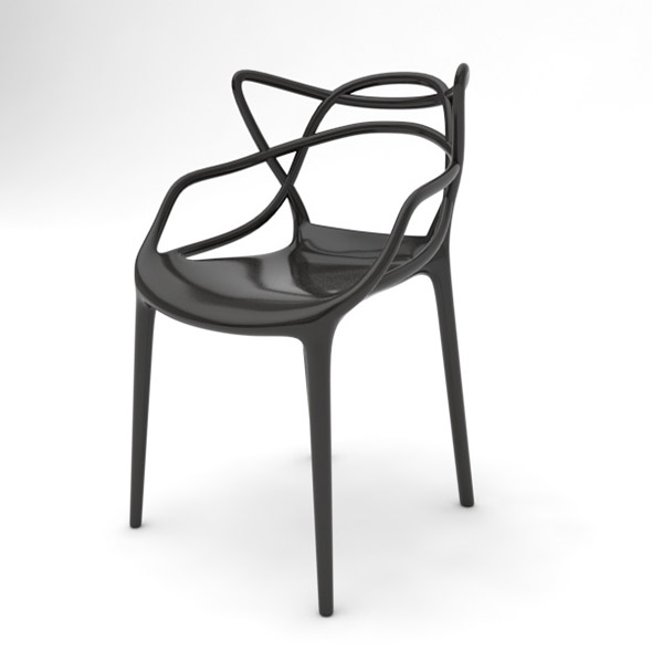 Chair Vitra Masters - 3DOcean Item for Sale