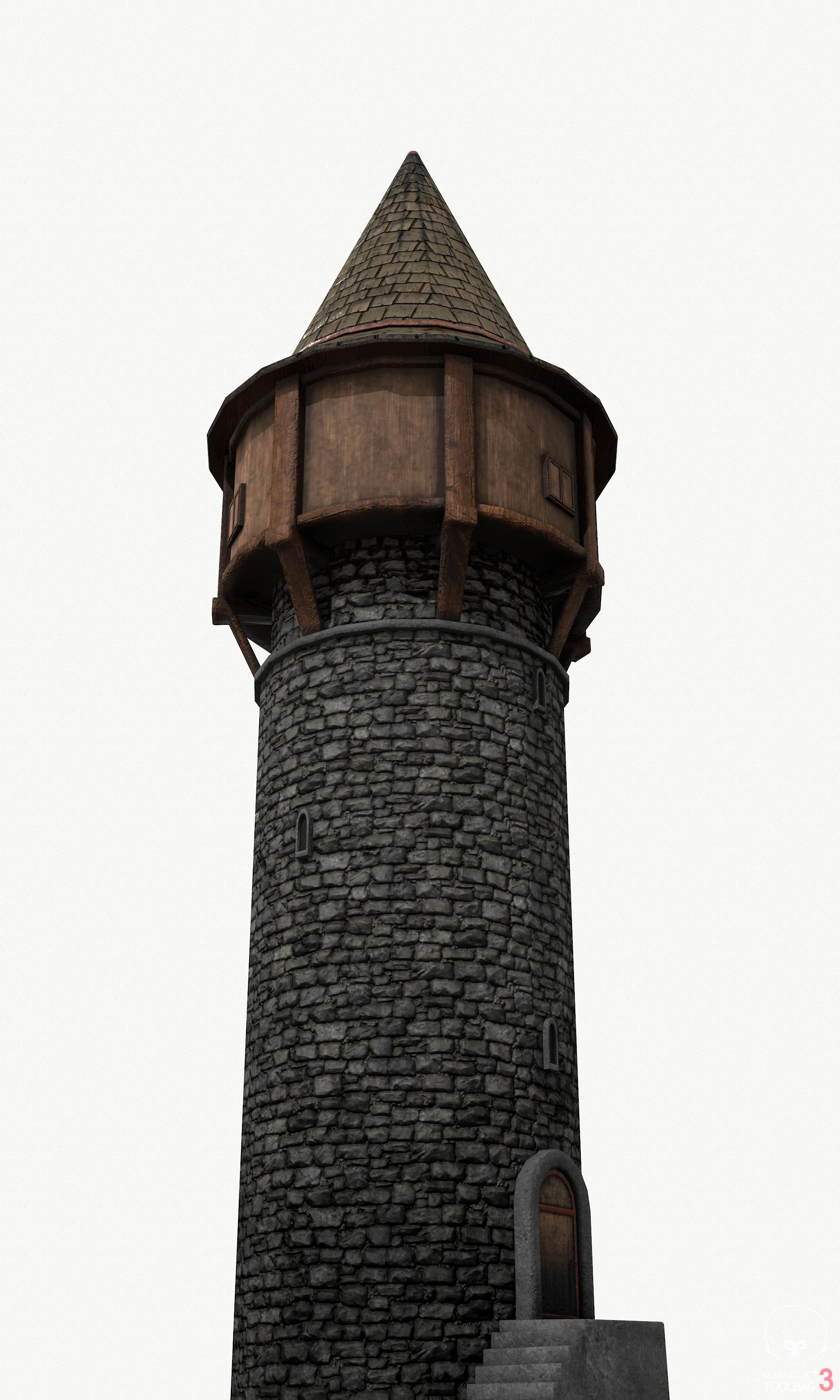Medieval Tower By En3my71 3docean