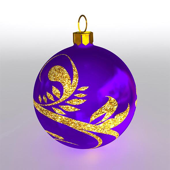 Christmas Ball 2 - 3DOcean Item for Sale